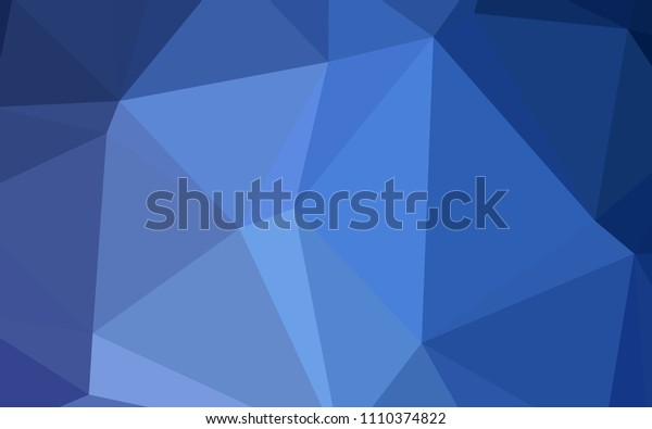 Light BLUE vector polygonal background. Colorful illustration in polygonal style with gradient. Textured pattern can be used for background.