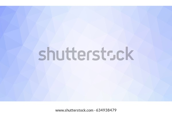 Light BLUE vector polygonal illustration, which consist of triangles. Triangular design for your business. Creative geometric background in Origami style with gradient