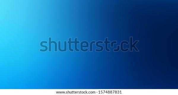 Light BLUE vector smart blurred pattern. Abstract illustration with gradient blur design. Design for landing pages.