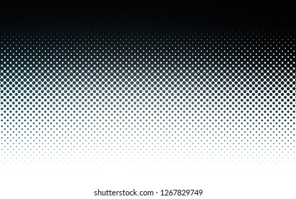 Light BLUE vector template with circles. Blurred decorative design in abstract style with bubbles. Design for business adverts.