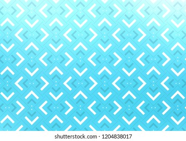 Light BLUE vector texture with colored lines. Modern geometrical abstract illustration with staves. The pattern can be used for websites.