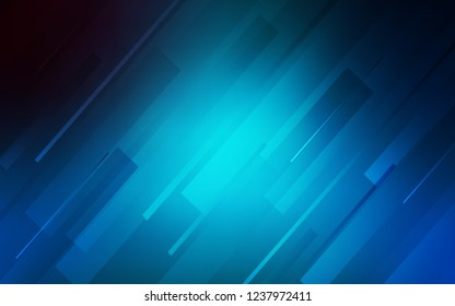 Light BLUE vector texture with colored lines. Lines on blurred abstract background with gradient. Pattern for your busines websites.