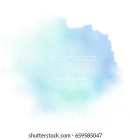 light blue watercolor