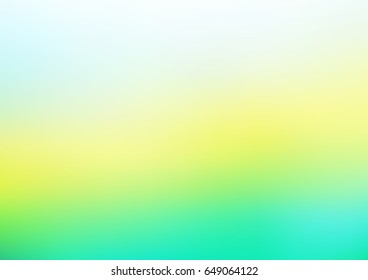 Light Blue, Yellow vector abstract blurred template. Shining colored illustration in a brand-new style. The blurred design can be used for your web site.
