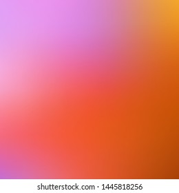 Light Blue, Yellow vector blurred template. Colorful illustration in abstract style with gradient. Background for cell phones.