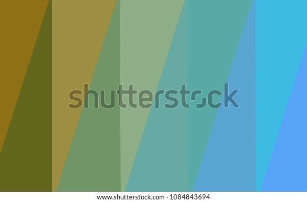 Light Blue, Yellow vector low poly layout. Elegant bright polygonal illustration with gradient. A completely new design for your business.