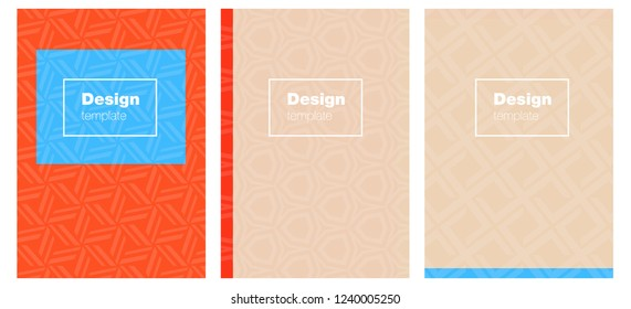 Light Blue, Yellow vector pattern for magazines. Modern abstract design concept with colorful gradient. New design for cover of books.