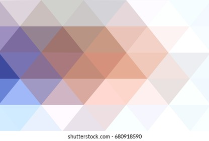 Light Blue, Yellow vector Pattern. triangular template. Geometric sample. Repeating routine with triangle shapes. New texture for your design. Pattern can be used for background.