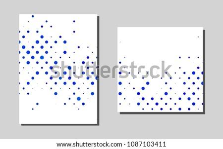 Light Blu Evector Template Landing Pages Glitter Stock Vector