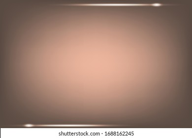 light brown abstract gradient background and decorated with white ribbons