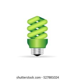 Light bulb icon in color. Idea inspiration light