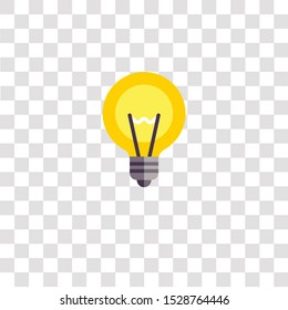 light bulb icon sign and symbol. light bulb color icon for website design and mobile app development. Simple Element from education elements collection for mobile concept and web apps icon.