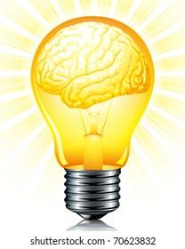 light bulb of inspiration