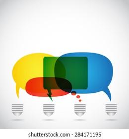 Light Bulb with Speech