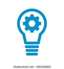 light bulb symbol vector design illustration - Vector