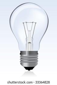 Light bulb / vector