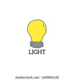 The light bulb is yellow. electricity is very important for human life. lights are useful for lighting. energy on earth is very important. save energy. smart energy