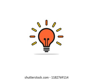 Light bulp vector illustration