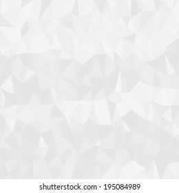Light clean modern low poly background pattern