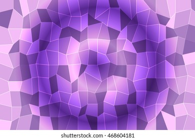 light color crystal polygonal background with 3d effect. vector illustration. for design, presentation, wallpaper, business
