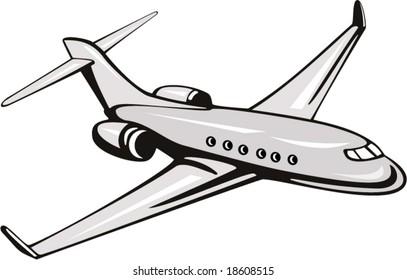 Light commercial plane
