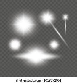 Light effects. vector.