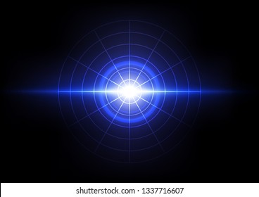 light explosion abstract background, energy wave sonic concept, technology nerwork internet signal
