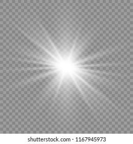 Light flare special effect. Illustration.