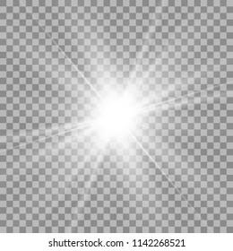 light flare special effect.vector illustration