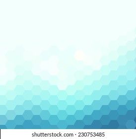 Light geometric background
