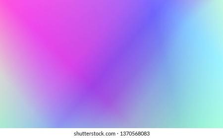 Light Gradient Abstract Background. For Brochure, Banner, Wallpaper, Mobile Screen. Vector Illustration