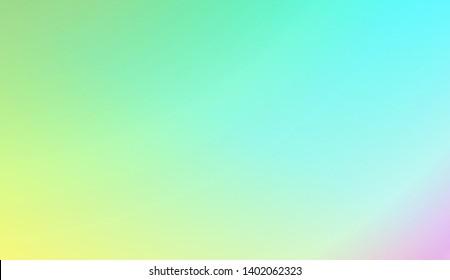 Light Gradient Abstract Background. For Your Graphic Invitation Card, Poster, Brochure. Vector Illustration