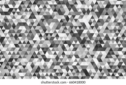 Light Gray vector low poly background. A sample with polygonal shapes. The textured pattern can be used for background.