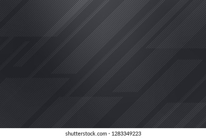 Light Gray vector pattern with sharp lines. Lines on blurred abstract background with gradient. Pattern for ads, posters, banners.