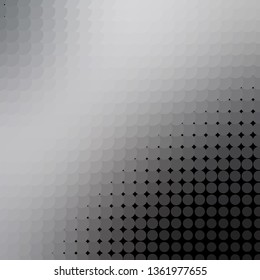 Light Gray vector texture with circles. Abstract colorful disks on simple gradient background. Pattern for websites, landing pages.