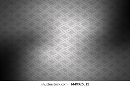 Light Gray vector texture in rectangular style. Rectangles on abstract background with colorful gradient. Pattern can be used for websites.