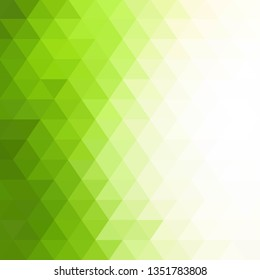 light green triangles background.  abstract vector illustration.
