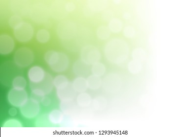 Light Green vector abstract template. Colorful illustration in abstract style with gradient. The best blurred design for your business.