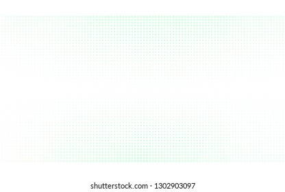 Light Green vector  background with bubbles. Abstract illustration with colored bubbles in nature style. Design for poster, banner of websites.