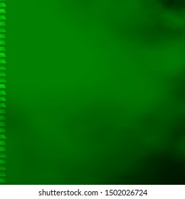 Light Green vector background with rectangles. Rectangles with colorful gradient on abstract background. Design for your business promotion.