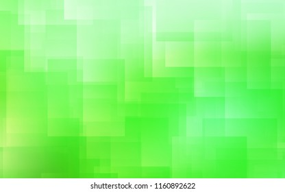 Light Green vector background with straight lines. Modern geometrical abstract illustration with Lines. Template for your beautiful backgrounds.