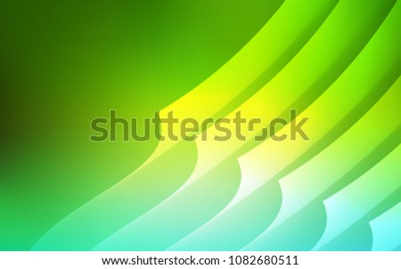 Light Green Vector Background Straight Lines Stock Vector Royalty