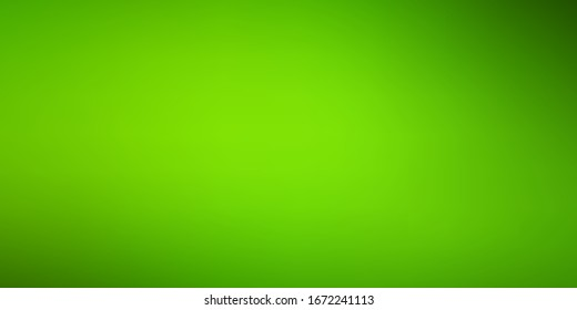 Light Green vector blurred background. Colorful illustration in halftone style with gradient. Best design for your business.
