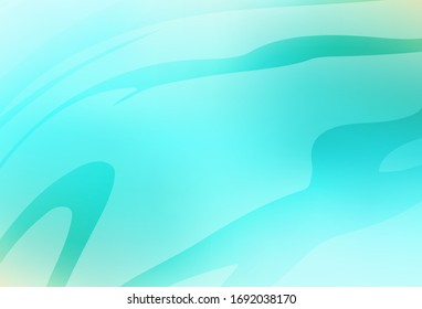 Light Green vector blurred bright template. New colored illustration in blur style with gradient. Smart design for your work. - Shutterstock ID 1692038170
