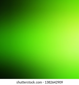 Light Green vector blurred template. Shining colorful illustration in blur style. Sample for your web designers.