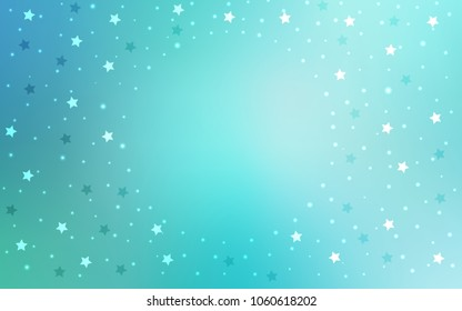 light blue green vector cover small stock vector royalty free