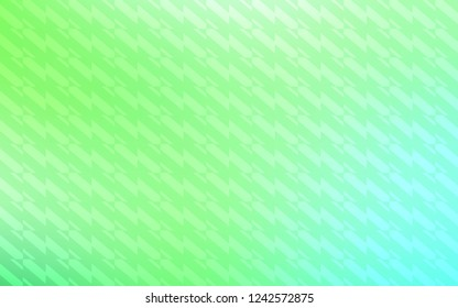 Light Green vector pattern with sharp lines. Modern geometrical abstract illustration with Lines. Pattern for ad, booklets, leaflets.