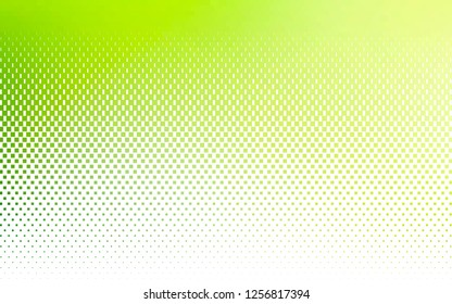 Light Green vector pattern in square style. Rectangles on abstract background with colorful gradient. Smart design for your business advert.