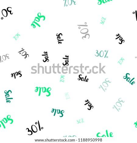 Light Green Vector Seamless Cover Symbols Stock Vector Royalty Free