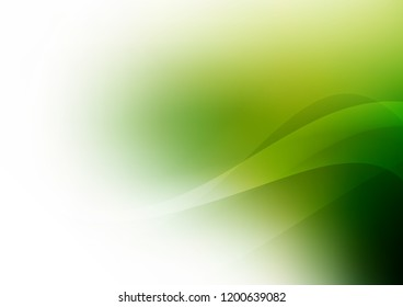 Light Green vector template with bent lines. Geometric illustration in marble style with gradient.  A completely new template for your business design.